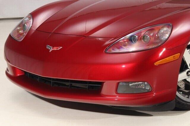 2008 Red Chevrolet Corvette  3LT   C6 Corvette Photo 5