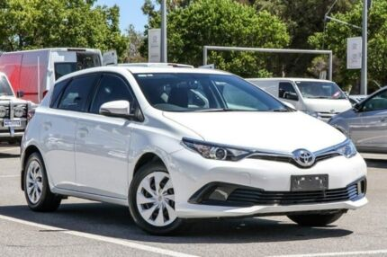 2016 Toyota Corolla White Constant Variable Hatchback