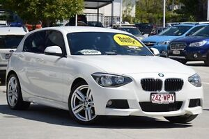 2012 BMW 118i F20 White 8 Speed Sports Automatic Hatchback Toowong Brisbane North West Preview