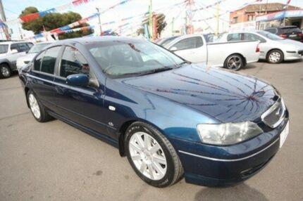 2003 Ford Fairmont BA Ghia Blue 4 Speed Automatic Sedan Kingsville Maribyrnong Area Preview