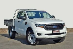2018 Ford Ranger PX MkII 2018.00MY XL Double Cab 4x2 Hi-Rider Cool White 6 Speed Sports Automatic Kedron Brisbane North East Preview