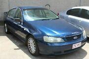 2002 Ford Falcon BA XT Blue 4 Speed Semi Auto Sedan Underwood Logan Area Preview