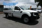 2012 Ford Ranger PX XL White 6 Speed Sports Automatic Cab Chassis Tingalpa Brisbane South East Preview