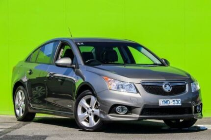 2011 Holden Cruze JH Series II MY12 SRi-V Silver 6 Speed Sports Automatic Sedan