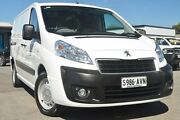 2012 Peugeot Expert MY12 Low Roof LWB White 6 Speed Automatic Van Hillcrest Port Adelaide Area Preview