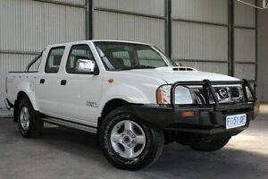 2010 Nissan Navara D22 MY2010 ST-R White 5 Speed Manual Utility Invermay Launceston Area Preview