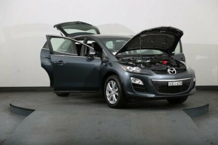 2011 Mazda CX-7 ER MY10 Diesel Sports (4x4) Grey 6 Speed Manual Wagon