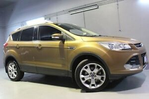 2013 Ford Kuga TF Trend PwrShift AWD Gold 6 Speed Sports Automatic Dual Clutch Wagon Invermay Launceston Area Preview