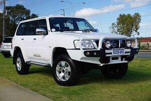 2011 Nissan Patrol GU 7 MY10 TI White 5 Speed Manual Wagon Wangara Wanneroo Area Preview