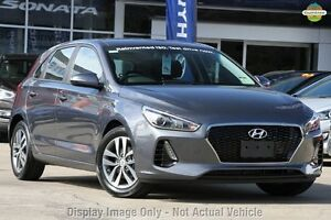 2017 Hyundai i30 PD MY18 Active Iron Grey 6 Speed Sports Automatic Hatchback Mount Barker Mount Barker Area Preview