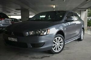 2010 Mitsubishi Lancer CJ MY10 Activ Sportback Grey 6 Speed Constant Variable Hatchback Nunawading Whitehorse Area Preview