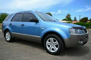 2006 Ford Territory SY TX Blue 4 Speed Automatic Wagon Blair Athol Port Adelaide Area Preview