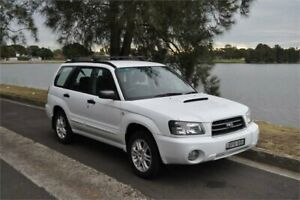 2005 Subaru Forester MY05 XT White 4 Speed Automatic Wagon Five Dock Canada Bay Area Preview