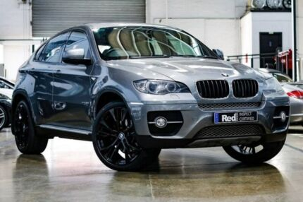 2008 BMW X6 E71 xDrive35i Coupe Steptronic Grey 6 Speed Sports Automatic Wagon Port Melbourne Port Phillip Preview