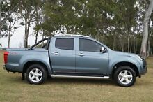 2014 Isuzu D-MAX MY14 LS-Terrain Crew Cab Grey 5 Speed Manual Utility Bundaberg West Bundaberg City Preview
