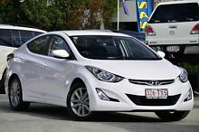 2014 Hyundai Elantra MD3 SE White 6 Speed Sports Automatic Sedan Southport Gold Coast City Preview