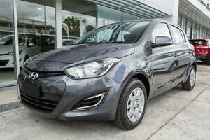 2014 Hyundai i20 PB MY14 Active Star Dust 4 Speed Automatic Hatchback Underwood Logan Area Preview