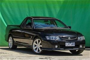 2003 Holden Ute VY II SS Black 4 Speed Automatic Utility Ringwood East Maroondah Area Preview