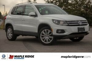 2016 Volkswagen Tiguan Highline NO ACCIDENTS, BC CAR, LOW KM!