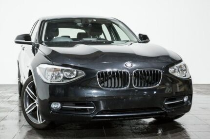 2012 BMW 118i F20 Black Sapphire 8 Speed Sports Automatic Hatchback