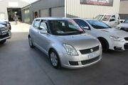 2008 Suzuki Swift EZ 07 Update Silver 5 Speed Manual Hatchback Mitchell Gungahlin Area Preview