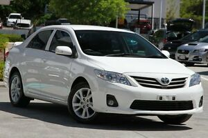 2013 Toyota Corolla ZRE152R Ascent Sport White 4 Speed Automatic Sedan Moorooka Brisbane South West Preview