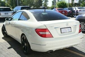 2012 Mercedes-Benz C250 C204 BlueEFFICIENCY 7G-Tronic + White 7 Speed Sports Automatic Coupe Wangara Wanneroo Area Preview