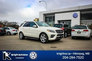 2015 Mercedes-Benz M-Class ML550 AWD w/ Leather/Sunroof/Nav/360
