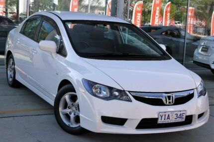2011 Honda Civic 8th Gen MY10 Limited Edition White 5 Speed Manual Sedan Belconnen Belconnen Area Preview