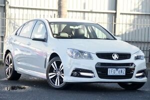 2015 Holden Commodore VF MY15 SV6 Storm Heron White 6 Speed Automatic Sedan Oakleigh Monash Area Preview