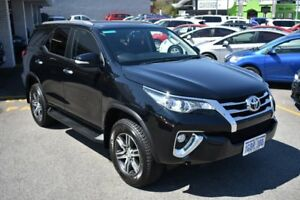 2015 Toyota Fortuner GUN156R GXL Eclipse Black 6 Speed Automatic Wagon Claremont Nedlands Area Preview