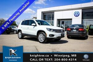 2015 Volkswagen Tiguan Highline 4Motion AWD w/ Leather/Panoramic