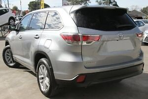 2016 Toyota Kluger GSU55R GX (4x4) Silver Sky 6 Speed Automatic Wagon Old Guildford Fairfield Area Preview