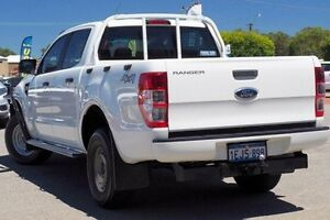 2013 Ford Ranger PX XL Double Cab White 6 Speed Manual Utility Maddington Gosnells Area Preview