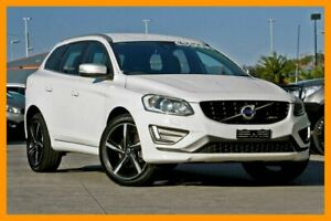 2014 Volvo XC60 DZ MY14 D5 Geartronic AWD R-Design White 6 Speed Sports Automatic Wagon Hillcrest Logan Area Preview