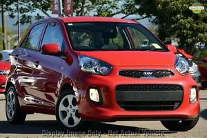 2016 Kia Picanto TA MY17 SI Signal Red 4 Speed Automatic Hatchback Mount Gravatt Brisbane South East Preview