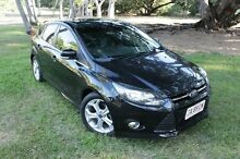 2013 Ford Focus LW MK2 Sport Black 5 Speed Manual Hatchback The Gardens Darwin City Preview