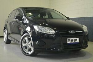 2013 Ford Focus LW MKII Ambiente Black 5 Speed Manual Hatchback Hillcrest Port Adelaide Area Preview