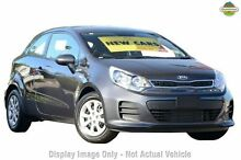 2015 Kia Rio UB MY16 S Graphite 4 Speed Sports Automatic Hatchback Hillcrest Logan Area Preview