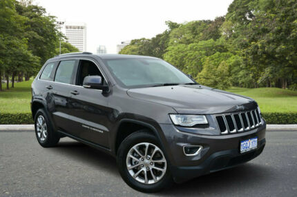 2015 Jeep Grand Cherokee WK MY15 Laredo (4x4) Gunmetal Grey 8 Speed Automatic Wagon Kewdale Belmont Area Preview