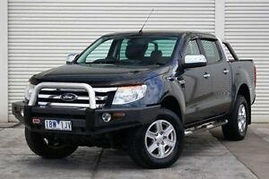2014 Ford Ranger PX XLT Double Cab Grey 6 Speed Sports Automatic Utility Seaford Frankston Area Preview