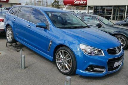 2014 Holden Commodore VF MY14 SS V Sportwagon Redline Perfect Blue 6 Speed Auto Seq Sportshift Wagon Doveton Casey Area Preview