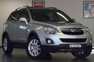 2012 Holden Captiva CG Series II 5 AWD Silver 6 Speed Sports Automatic Wagon Chatswood Willoughby Area Preview