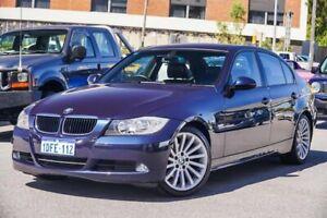 2008 BMW 320i E90 MY08 Executive Steptronic Blue 6 Speed Sports Automatic Sedan