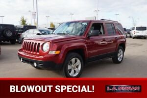 2015 Jeep Patriot 4X4 NORTH EDITION Accident Free,  A/C,