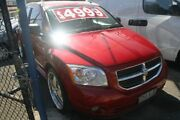 2007 Dodge Caliber PM R/T Bronze Red 5 Speed Manual Hatchback Briar Hill Banyule Area Preview