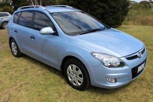 2011 Hyundai i30 FD MY11 SX cw Wagon Blue 4 Speed Automatic Wagon Burnie Area Preview