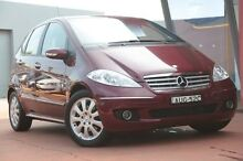 2005 Mercedes-Benz A200  Maroon Automatic Selespeed Hatchback Banksia Rockdale Area Preview