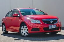 2012 Holden Cruze JH Series II MY12 CD Red 6 Speed Sports Automatic Sedan Bellevue Swan Area Preview
