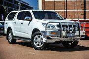 2014 Holden Colorado RG MY15 LTZ Crew Cab White 6 Speed Sports Automatic Utility Fremantle Fremantle Area Preview